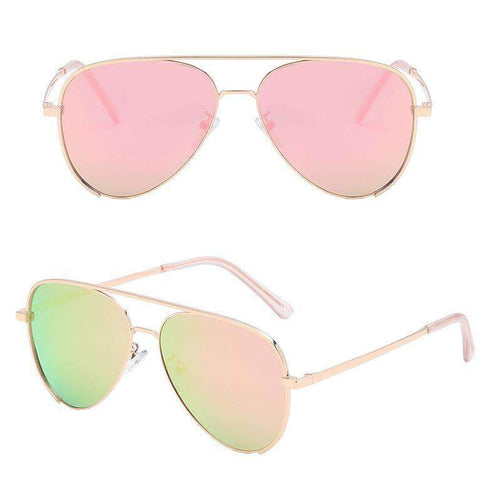 Double Layer Frame Aviator Sunglasses gallery 5