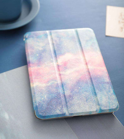 Literary Romantic Starry Sky Painted Apple iPad Cover Case gallery 1