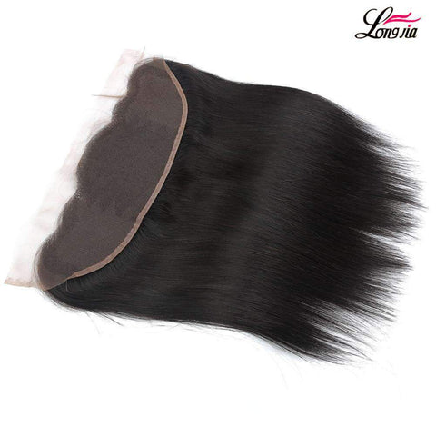 Brazilian Straight Wave Human Hair With Lace Closure gallery 2