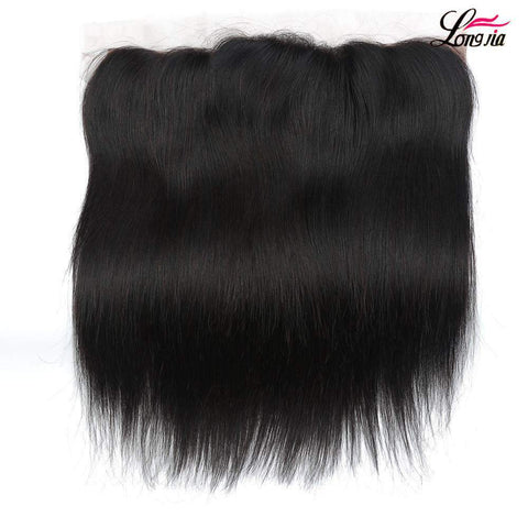 Brazilian Straight Wave Human Hair With Lace Closure gallery 1