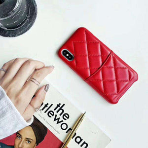 Leather Phone Case and Purse with Card Holder for iPhone