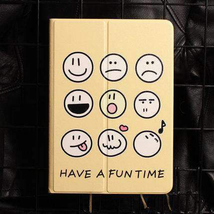 Cute Various Expressions Designed Apple iPad Cover Case gallery 2