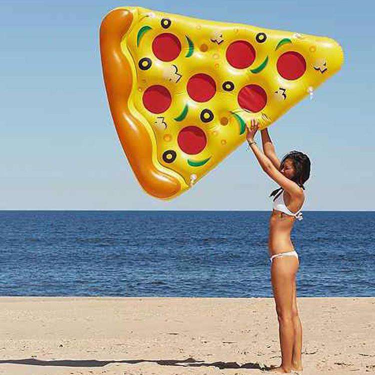 Slice of Pizza Inflatable Luxury Party Pool Float