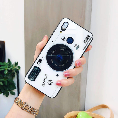Chic Camera Design iPhone Case with Phone Holder and Hand Strap gallery 3
