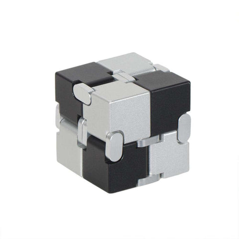 Pure Colored Decompression Fidget Infinity Cube gallery 6