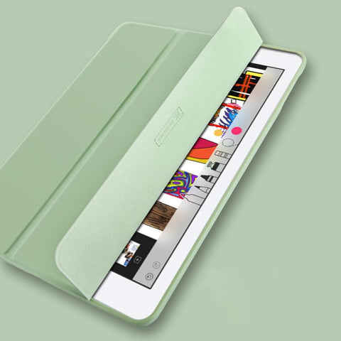 Pure Color Foldable iPad Cover Case gallery 3
