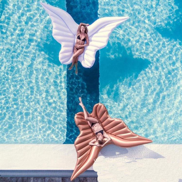 Angel Wings Inflatable Luxury Party Pool Float