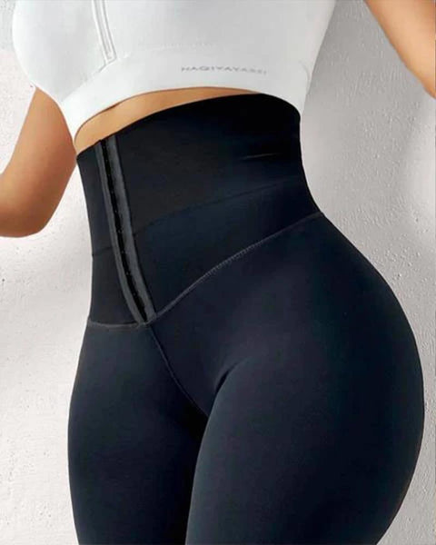 Body Shaping Waist Cincher Sports Leggings gallery 1