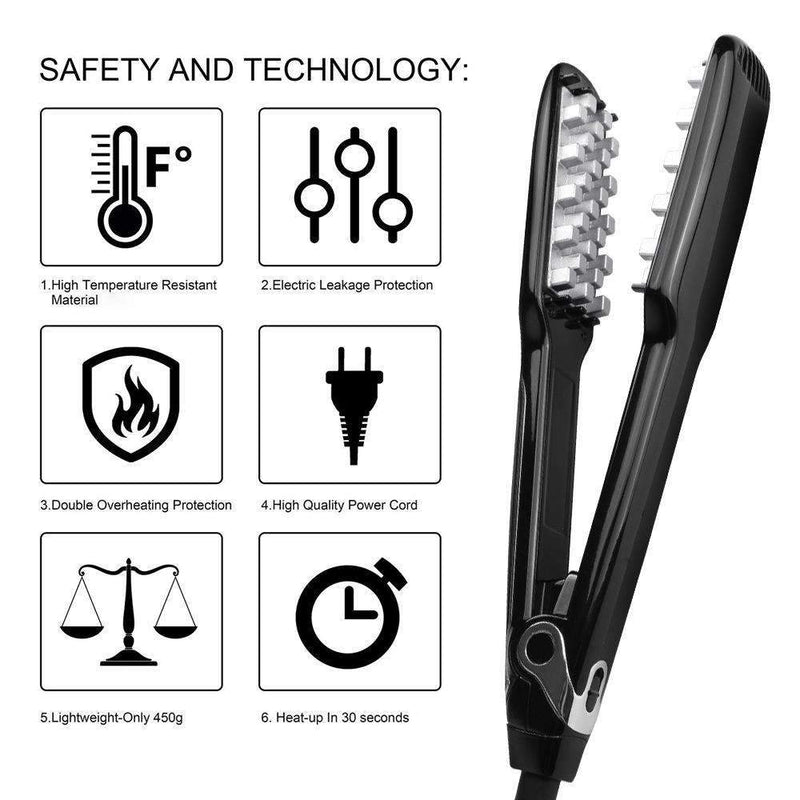 Electric Hair Volumizing Straightener