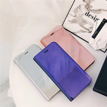 Extravagant Laser Mirror Phone Cover Case for All iPhone