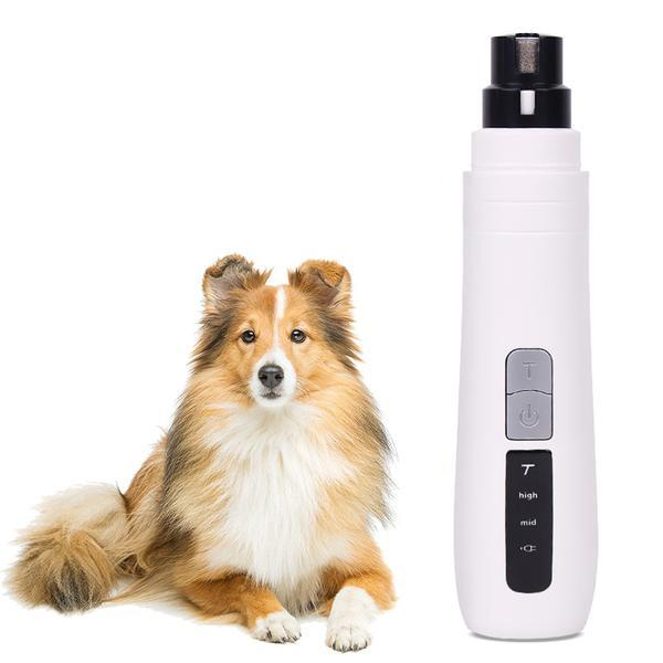Electric Pet Nail Grinder for Gentle and Painless Paws