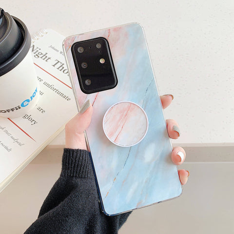 Smooth Marble Crack Detail Phone Case with Phone Holder gallery 8
