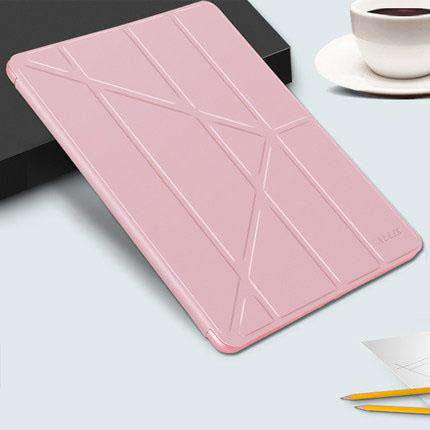 Solid Color Apple iPad Cover Case with Capacitive Pen gallery 6