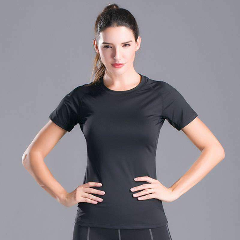 Breathable Quick Dry Sports Yoga T-Shirt