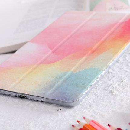 Colorful Cloud Painted Apple iPad Cover Case