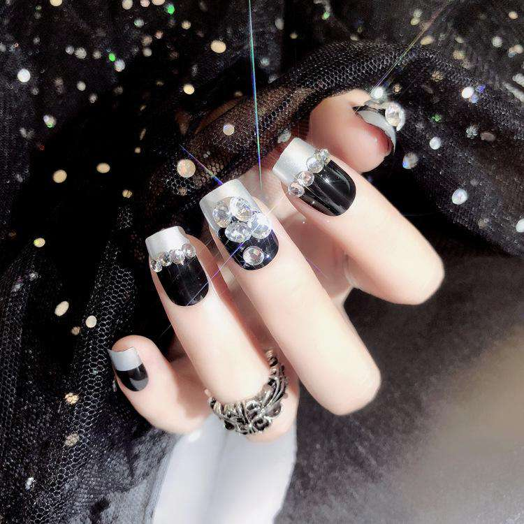 Silver Bullet Magic Press On Nail Manicure