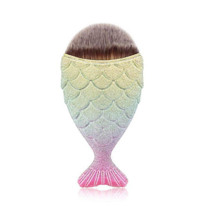 Mermaid Fish Scale Foundation Make-up Brush