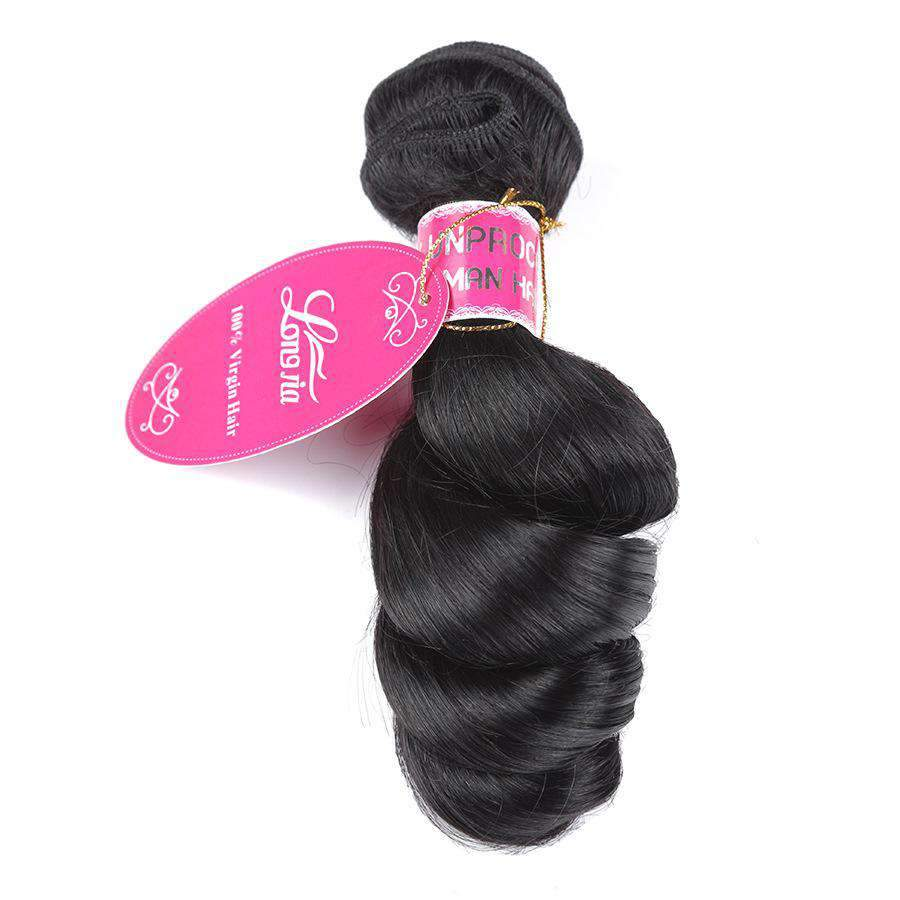 Brazilian Loose Wave Human Hair 3 Bundles