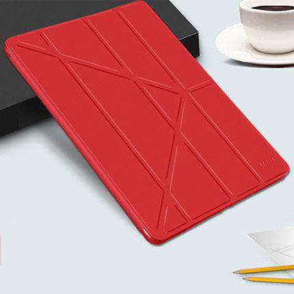 Solid Color Apple iPad Cover Case with Capacitive Pen gallery 4