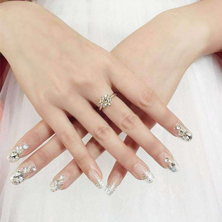 Bridal Magic Press On Nail Manicure