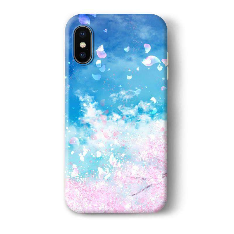 Creative Design Flower Gone with Wind Phone Case For All iPhone