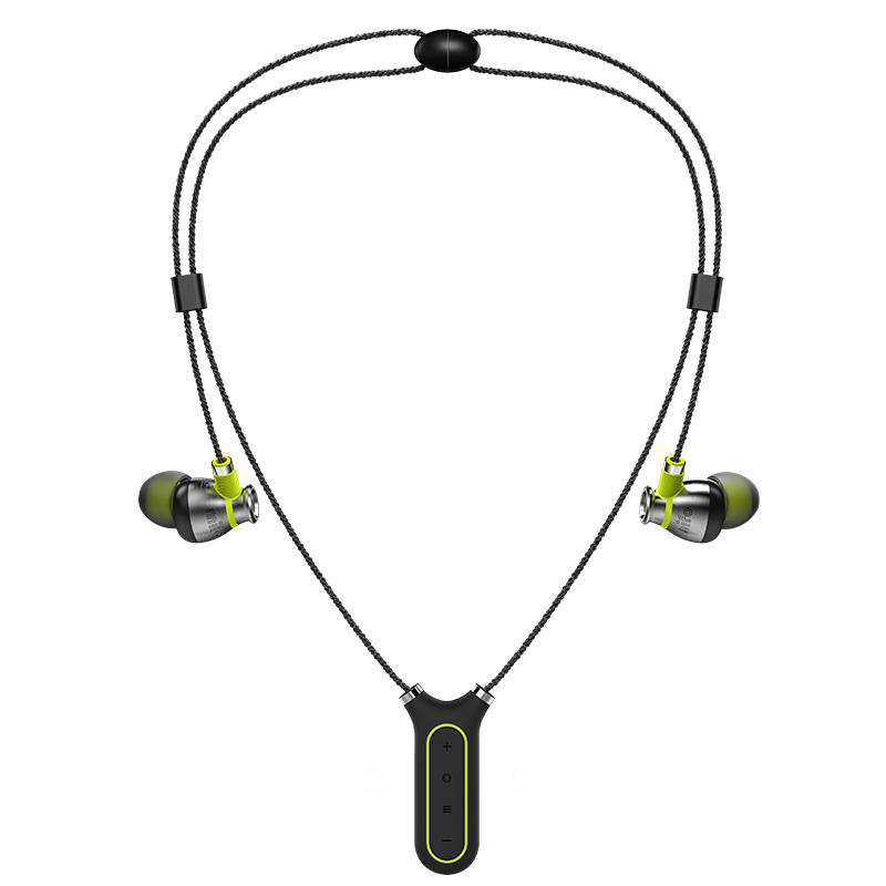 Sweat-Resistant Magnetic Wireless Bluetooth Neckband Earphone Come with Storage