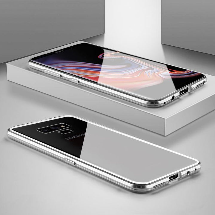 Ultra Slim Magnet Protective Phone Case For Samsung with Metal Frame gallery 19