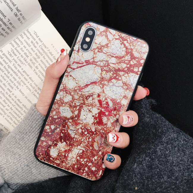 Silicone Ink Painting iPhone Case
