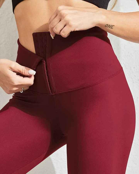 Body Shaping Waist Cincher Sports Leggings gallery 3