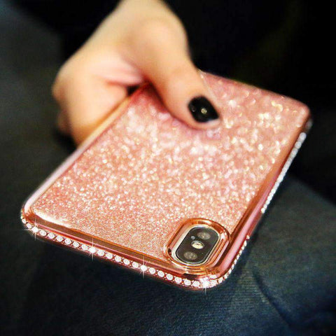 Diamond-encrusted Phone Case for Samsung gallery 2