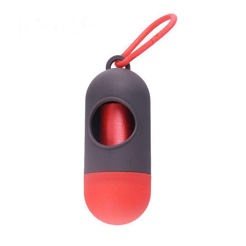 Capsule And Bone Shaped Portable Outdoor Use Pet Dog Poop Dispenser gallery 16
