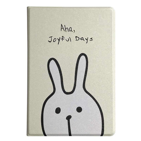 Cute Rabbit Painted Apple iPad Cover Case gallery 2