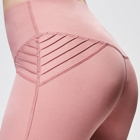 Styling Solid Color Breathable Sport Legging