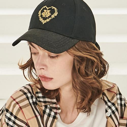 Bow Detail Graphic Embroidery Baseball Cap