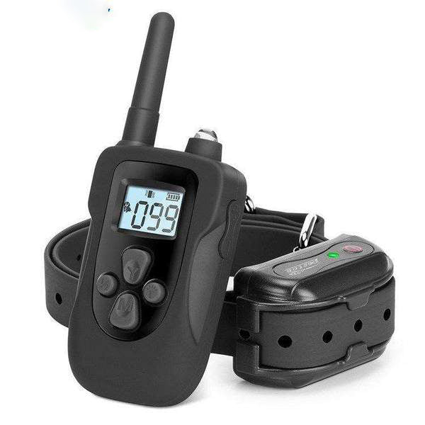 Rainproof Dog Shock Collar with Remote for Small Medium Large Dogs