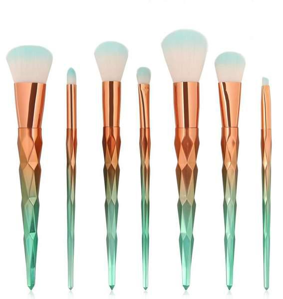 7Pcs Mermaid Make-up Brush