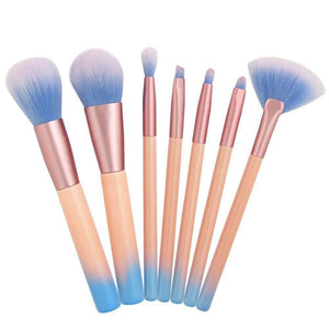 7Pcs Candy Color Make-up Brush
