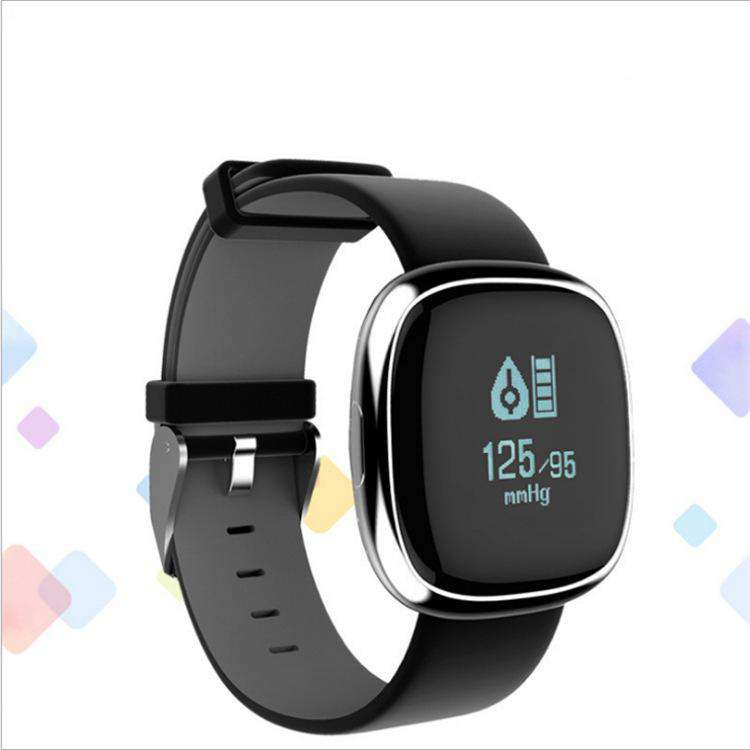 Square Bluetooth Smart Step Movement Wearing Bracelet