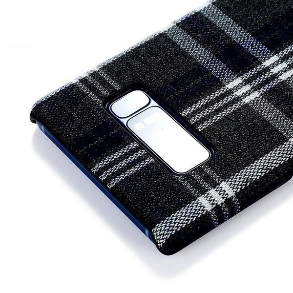 Retro Grid Pattern Phone Case for Samsung Galaxy Note 8
