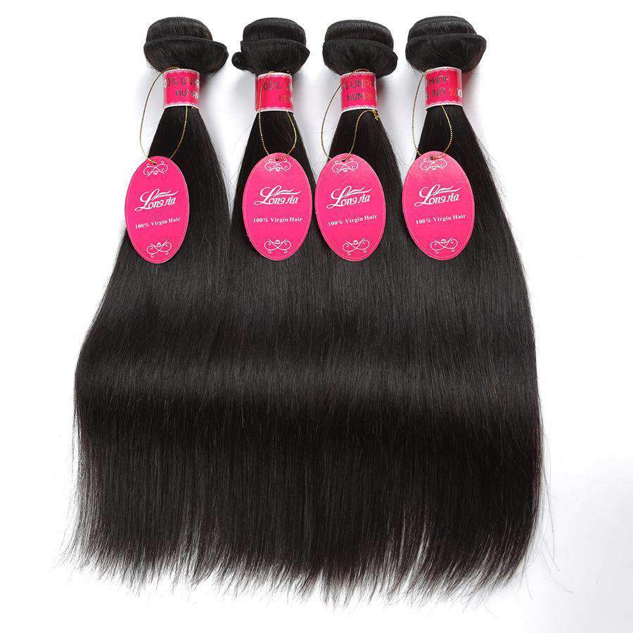 Brazilian Straight Weight Human Hair 3 Bundles