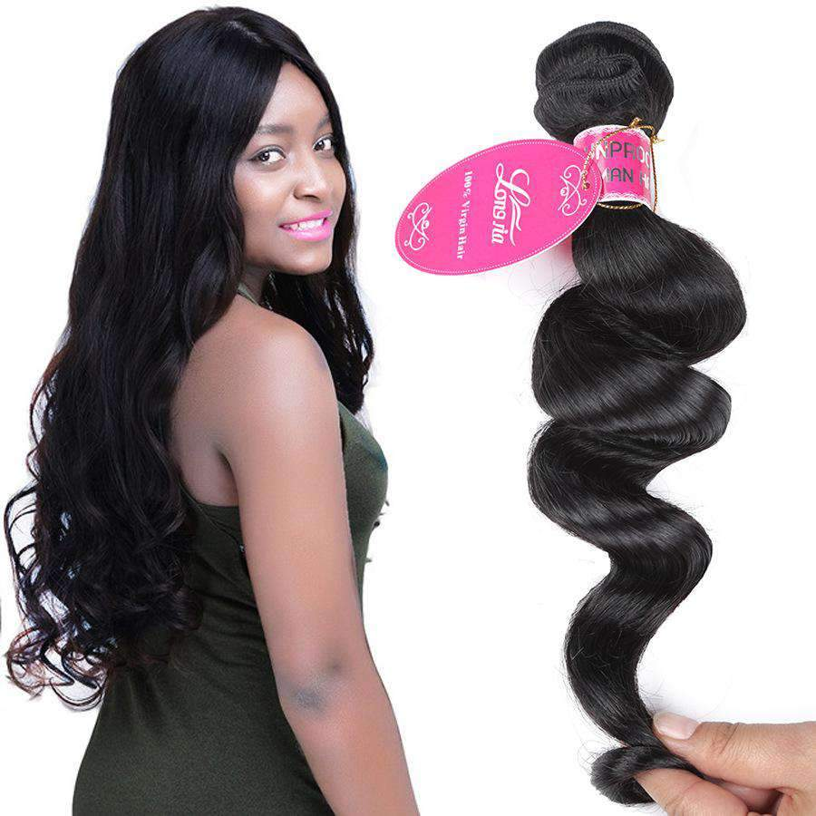 Brazilian Loose Wave Virgin Human Hair 3 Bundles