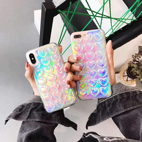 Heart Rhombus Pattern Phone Case for Samsung gallery 2