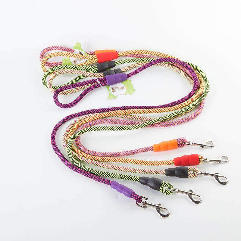 Colorful Anti Pull Dog Leash with Alloy Buckle