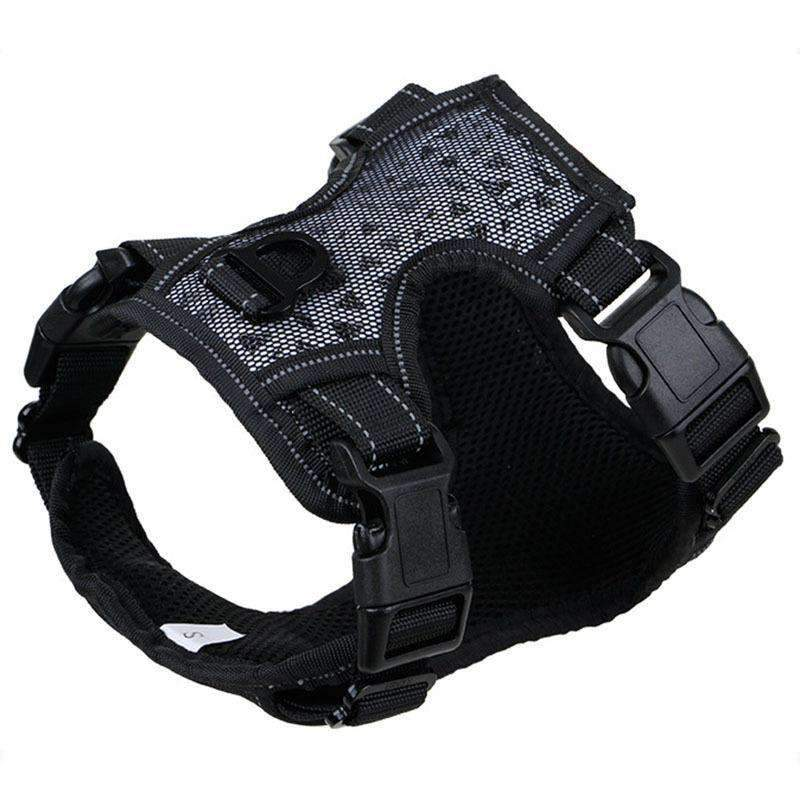 Explosion-Proof Vest Harness Chest Strap for Medium Sized & Large Dogs