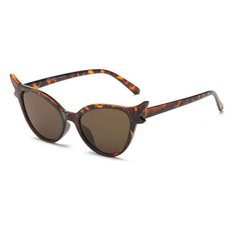 Personality Design Kitty Shape Lens Sunglasses gallery 3