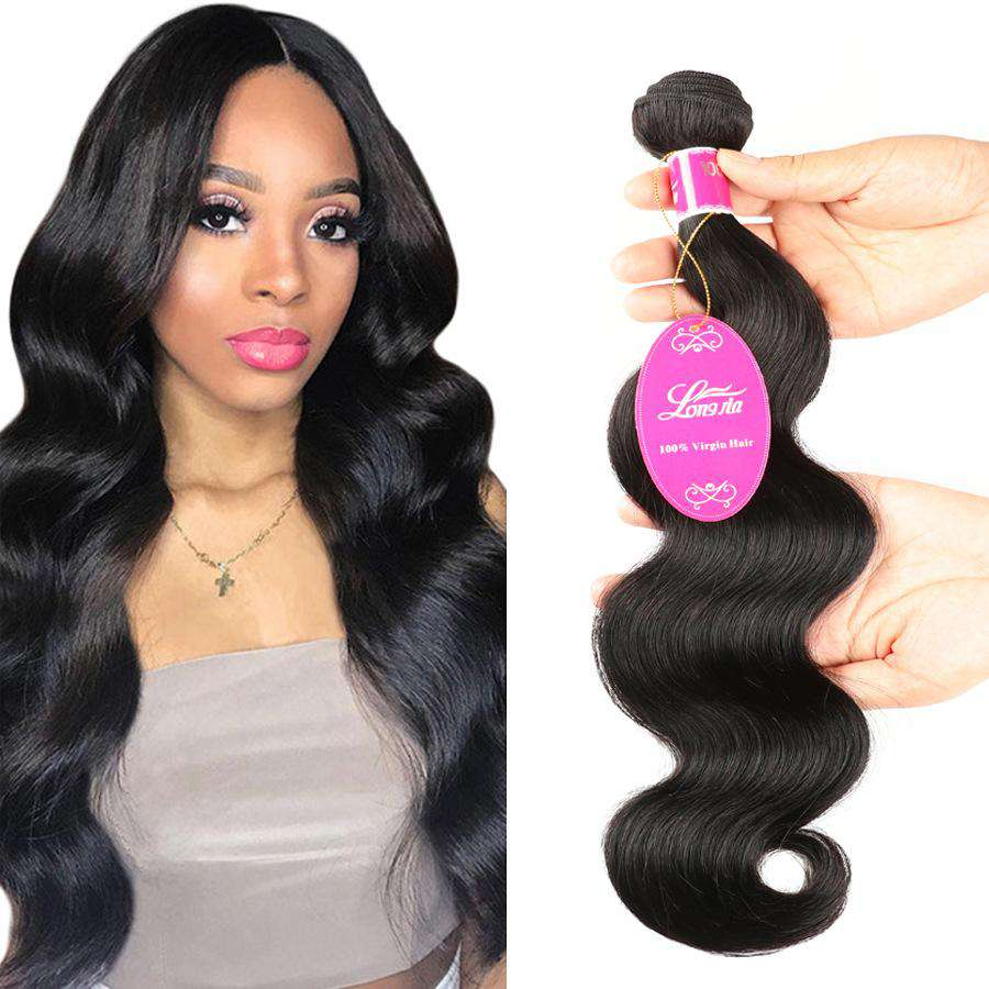 Peruvian Body Wave Human Hair 3 Bundles