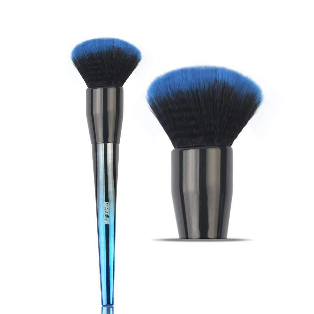 Dark Blue Fur Make-up Brush