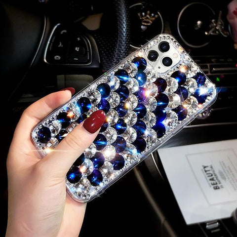 Full Rhinestone Cover Shockproof Phone Case for Samsung gallery 5