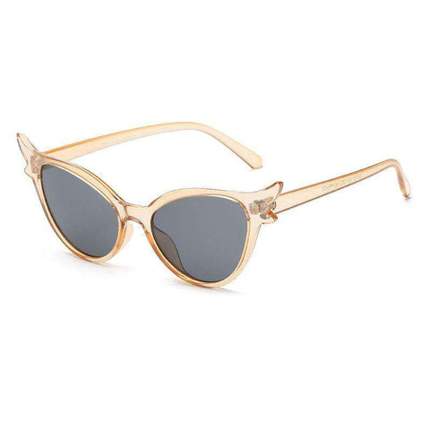 Personality Design Kitty Shape Lens Sunglasses gallery 4