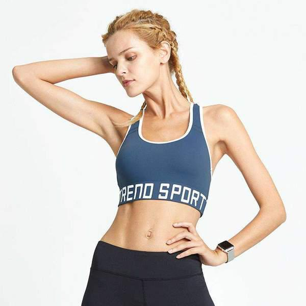 Gather Style Sports And Yoga Without Steel And Seamless Vest Bra